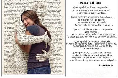 """8ca00cb5633 Pablo Neruda es uno de los poetas que ha escrito algunos de los poemas más  bellos sobre la vida como este magnífico """"Queda prohibido"""" donde escribe  """"queda ..."""